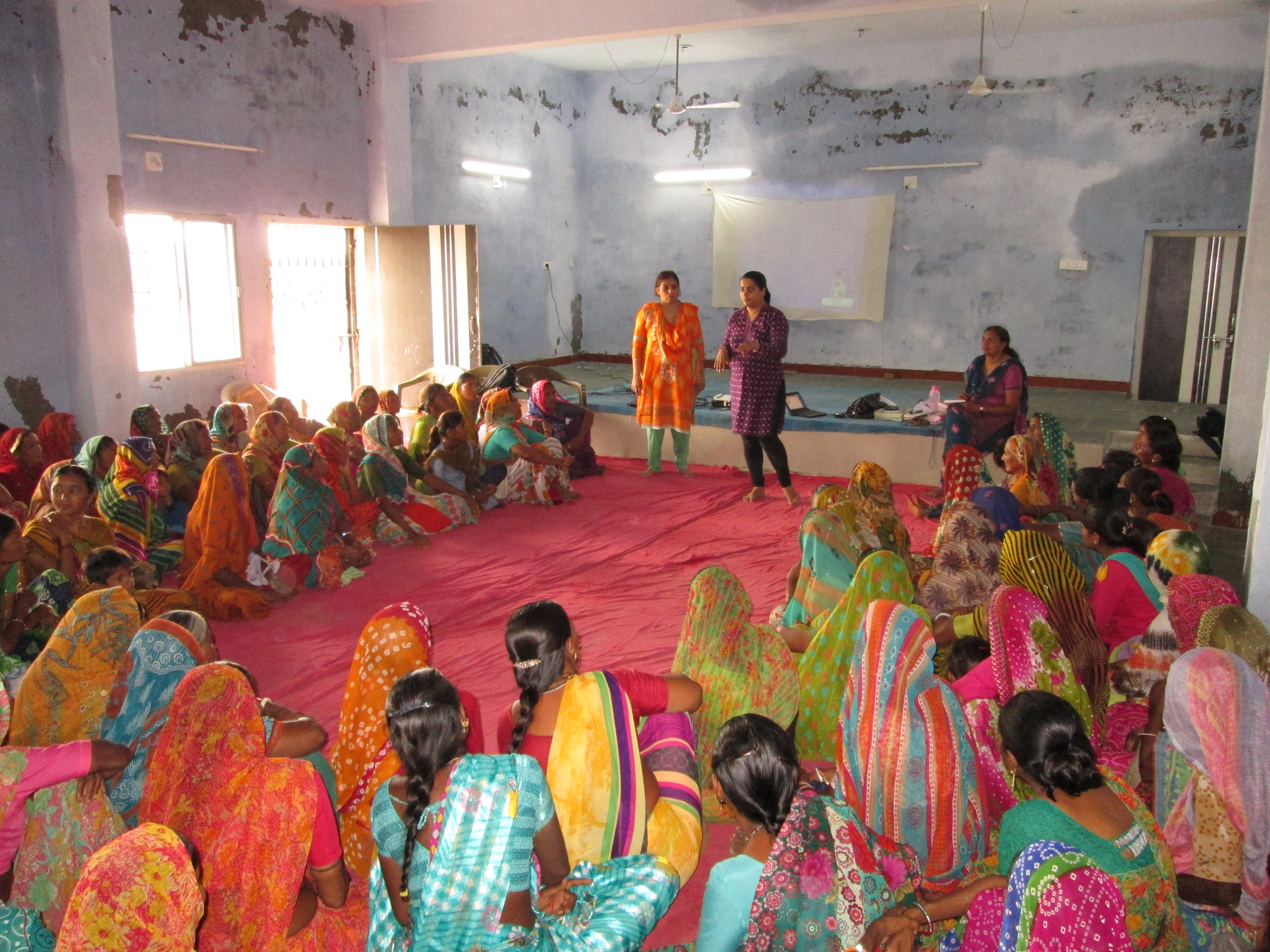 Women get trained to become health workers