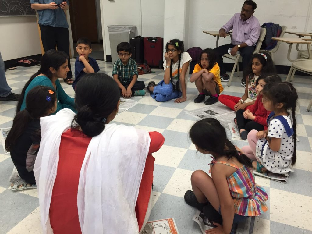 Kids discuss peace and justice AID25