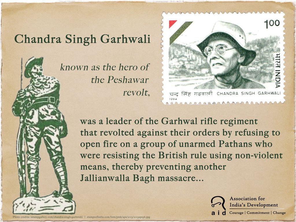 English Version: Chandra Singh Garhwali : A champion that promoted