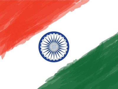 Indian Flag graphic